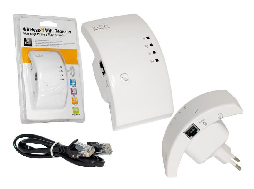 Repetidor Wifi Expansor Sinal 300mbps Amplificador Wireless