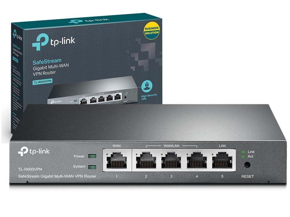 ROTEADOR BROADBAND VPN GIGABIT TL-R600VPN TP-LINK