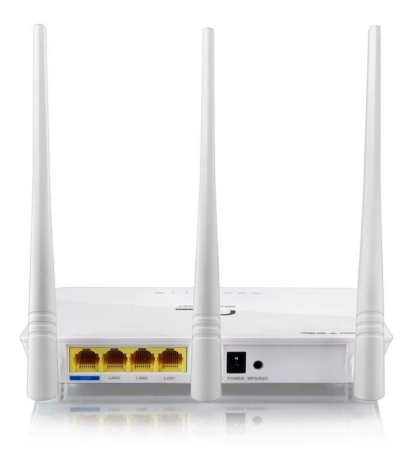 Roteador Wifi 3 Antenas Wireless N 300mbps Re163v Multilaser