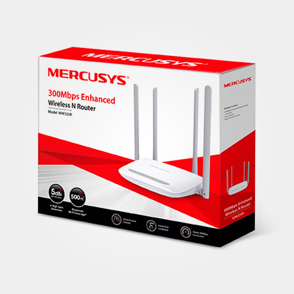 ROTEADOR WIRELESS N 300MBPS MW325R MERCUSYS