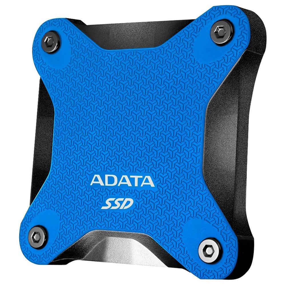 SSD EXTERNO ADATA SD600Q 240GB USB 3.2 AZUL - ASD600Q-240GU31-CBL