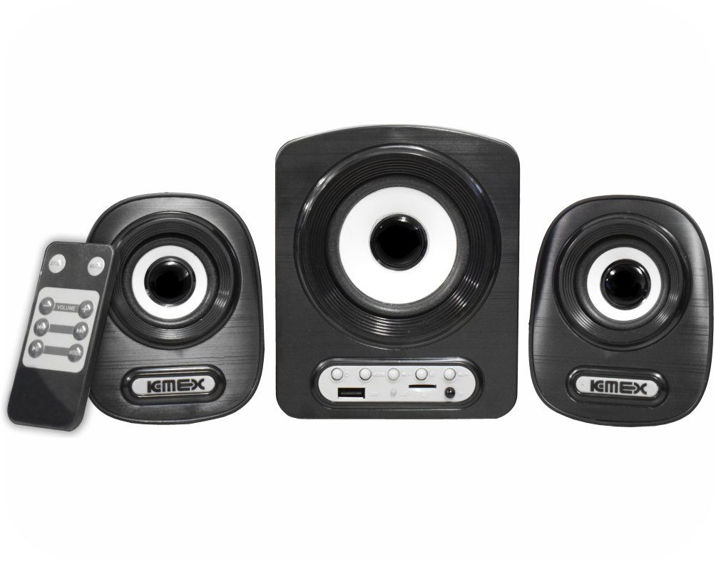 SUBWOOFER SYSTEM 2.1 11W RMS PRETO SS-A300 K-MEX