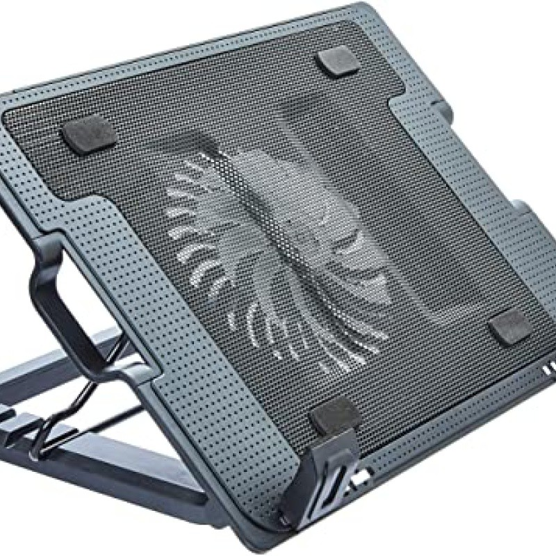 Suporte de Notebook Multilaser NotePal Vertical c/ Cooler para Notebook AC166