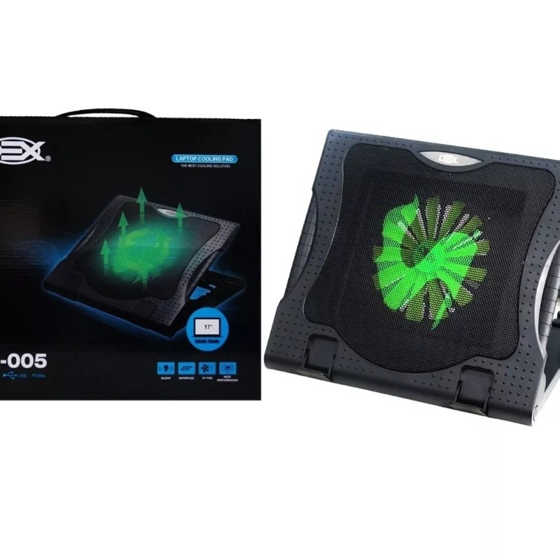 Suporte Para Notebook Com Cooler Dx-005 Base Dex