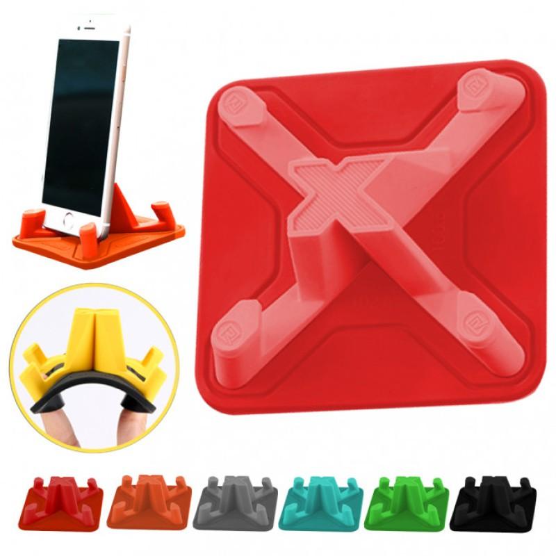 Suporte para Smartphone (celular) de Silicone 4 Posições Base Antiderrapante Exbom - 03511