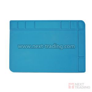 Tapete Manta em Silicone Resistente ao Calor com Porta Objetos para Manutenção de Eletrônicos 480x340mm 03326 / KLTE-508