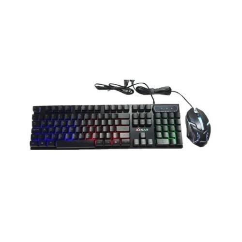 Teclado e Mouse Gamer USB Led RGB Luminoso HK-8600