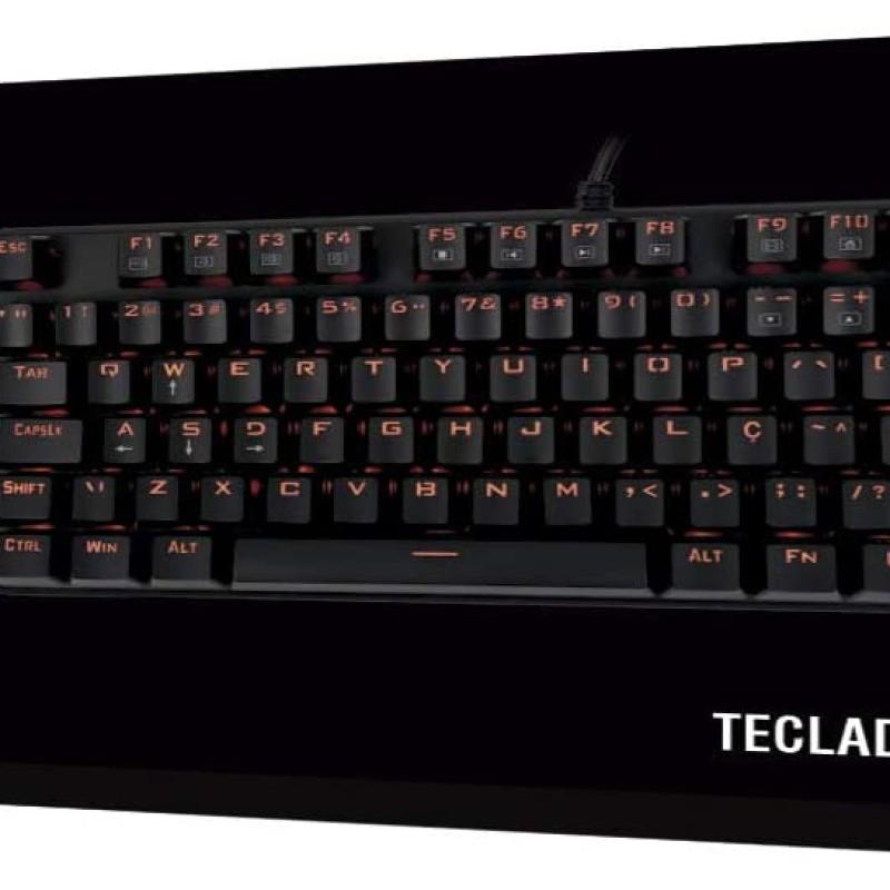 TECLADO GAMER MECANICO VULCAN TC603 PRETO USB 48.7144 OEX