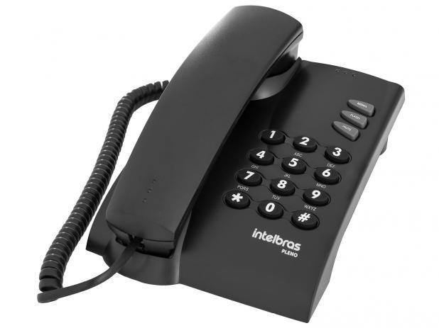 TELEFONE INTELBRAS SEM CHAVE PLENO PT MESA/PAREDE