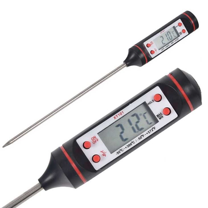 Termometro Digital Espeto Alimento Cozinha A Prova D Agua PZ-XT101