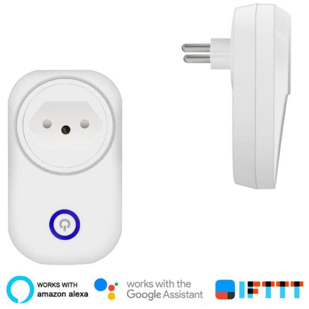 Tomada Inteligente Wifi Smart Home 10a Bivolt - XT-2193