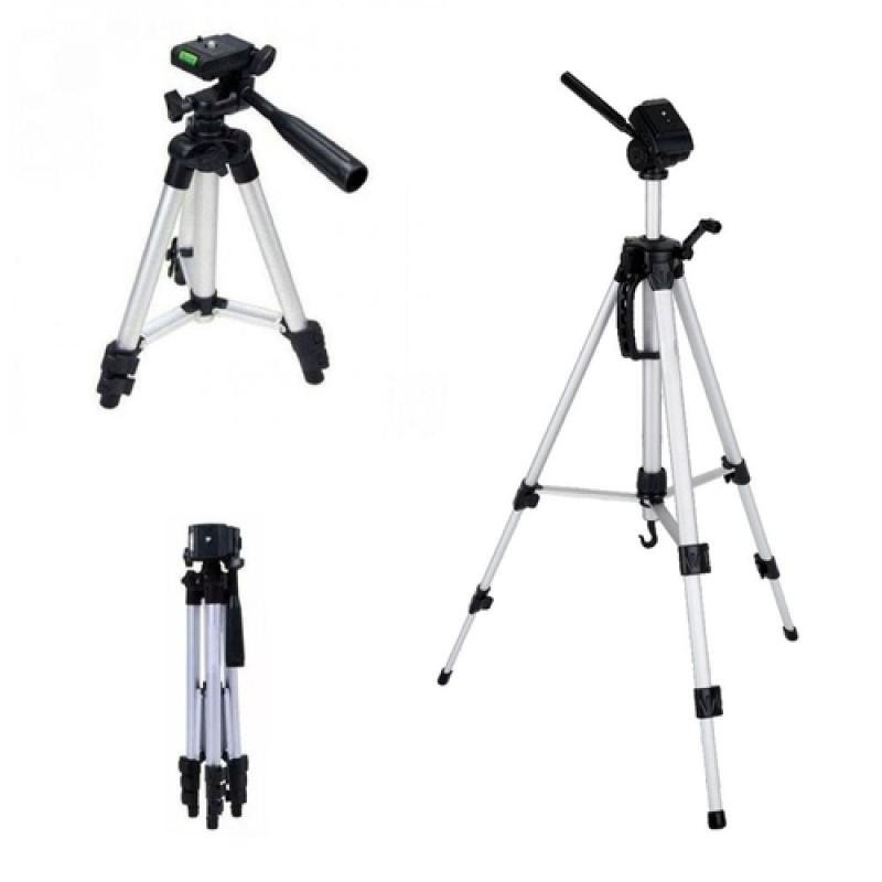 Tripé Tripod Telescópico Alumínio 1,5M MTG-102 Tomate Profissional Para Câmeras Filmadoras
