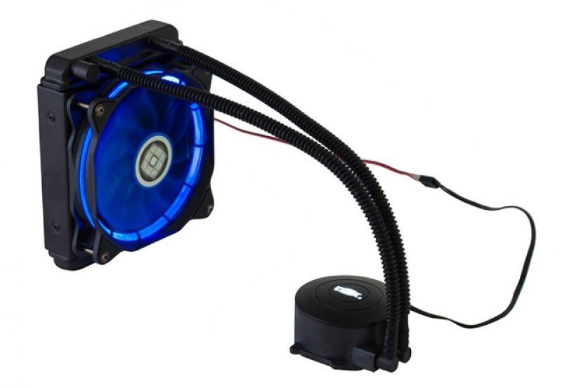 Water Cooler Hydro 120 Mm DX-120A 1155 1150 1151 AM3 FM2 Am4 AZUL
