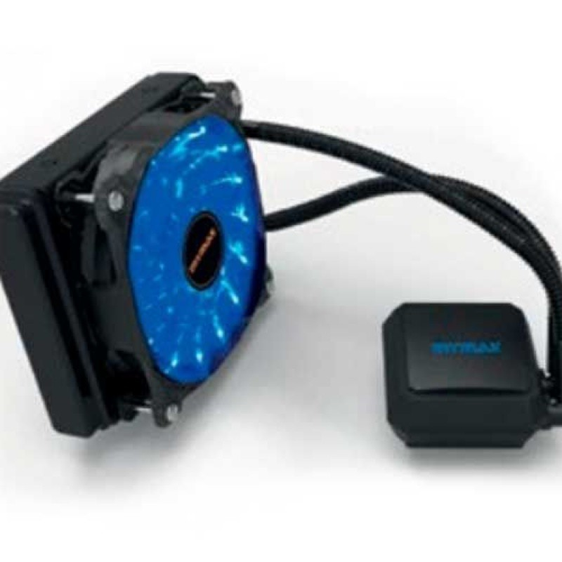 Watercooler Algor 120mm para AMD e Intel LED Azul(MYC/FC-V2-120MM/BL) Mymax