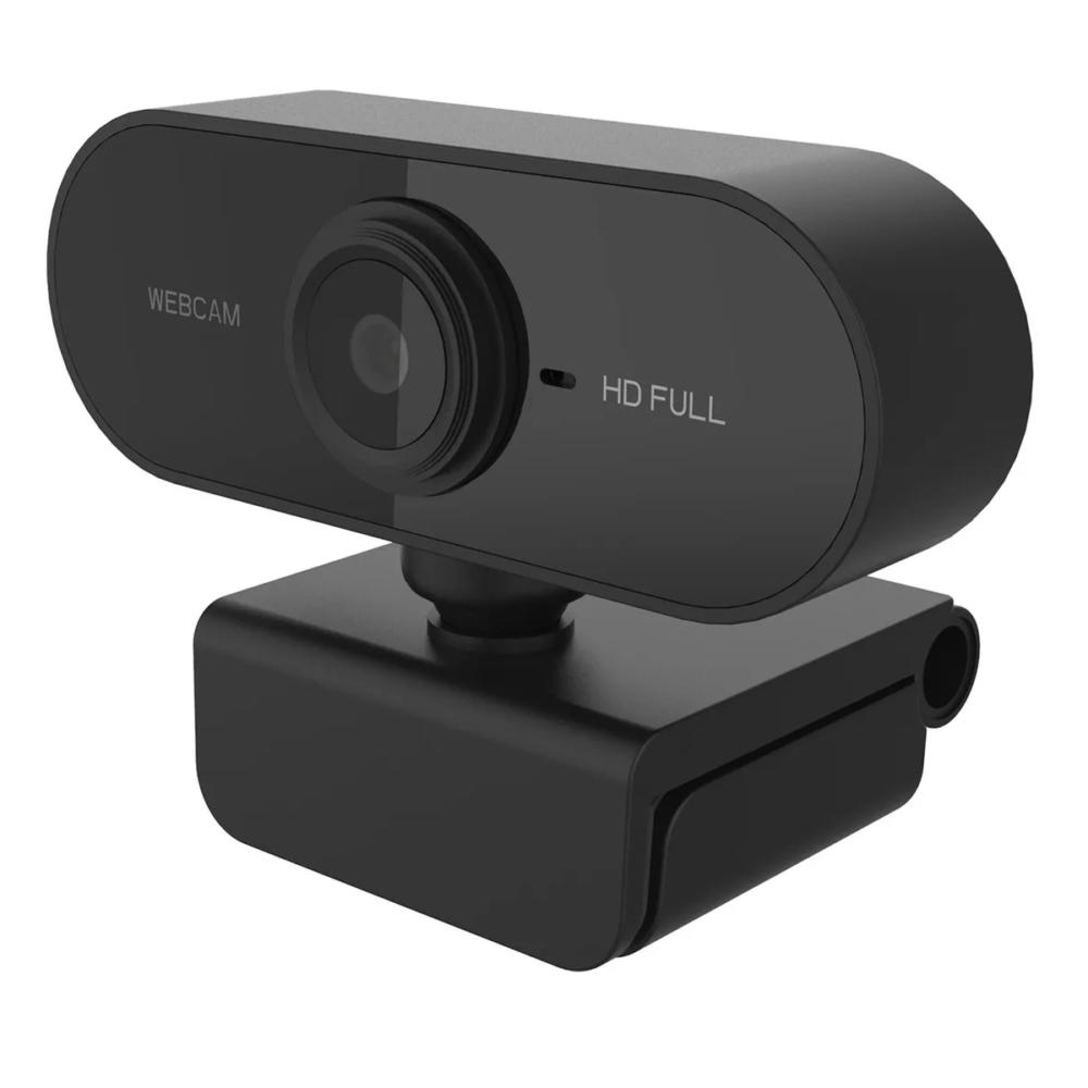 Webcam 1080P FULL HD com microfone chamada em casa conferência trabalho AL004