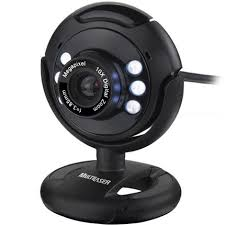 WebCam 16mp Com Microfone Nightvision Usb Multilaser Wc045