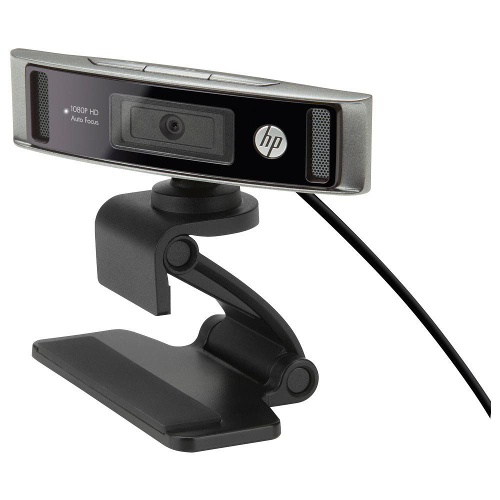WEBCAM FULL HD 1080P HD4310 PRETO HP IDEAL LIVES E STREAM
