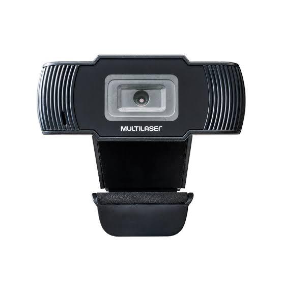 Webcam Hd 720p 30 Fps Usb Preta C/ Microfone Integrado Ac339 Multilaser