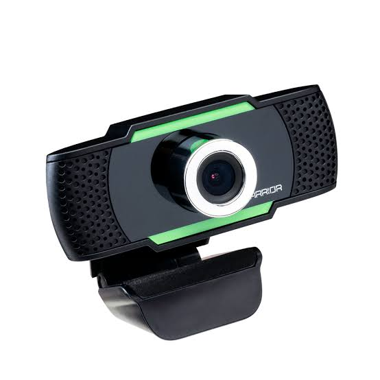 Webcam Hd Gamer Warrior Maeve Controle De Foco 30 Fps- Ac340