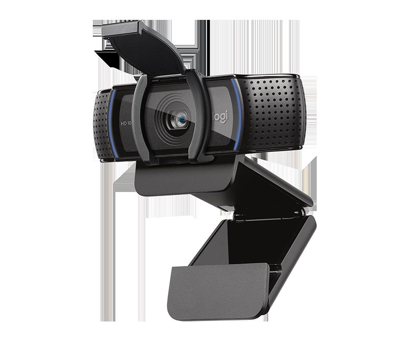 BLACK FRIDAY = WebCam Usb Full Hd 1080p C920s C/mic Hd Pro Preto Logitech