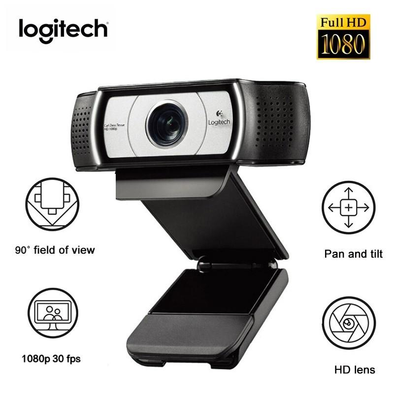 WEBCAM USB FULL HD 1080P C930E COM MICROFONE LOGITECH BUSINESS