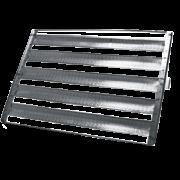 10 Assadeiras Para Pao Frances 5 Tiras 58x70 Em Aluminio