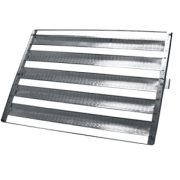 20 Assadeiras Para Pao Frances 5 Tiras 58x70 Em Aluminio