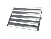 Assadeira Para Pao Frances Com 5 Tiras 58x70 Em Aluminio 20 Peças