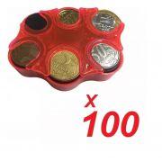 CÓPIA - KIT 50 Porta Moedas Bolso Organizador Dinheiro Loja