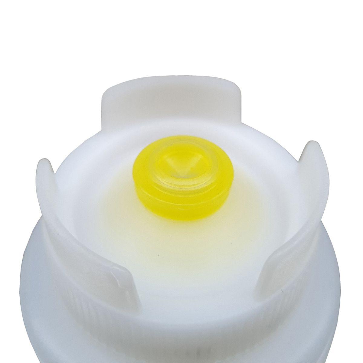3 Bisnaga Invertida FIFO 720ml Yellow Gourmet  - EKENOX- Equipamentos Industriais