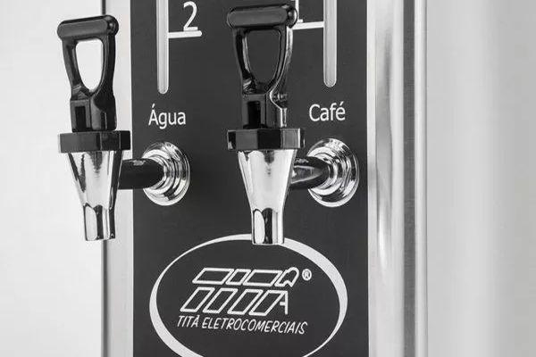 Cafeteira Elétrica Industrial Inox Titã