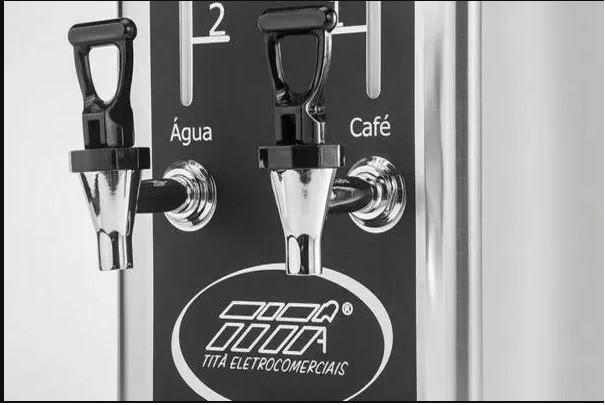 Cafeteira Elétrica Industrial Inox Titã  - EKENOX- Equipamentos Industriais