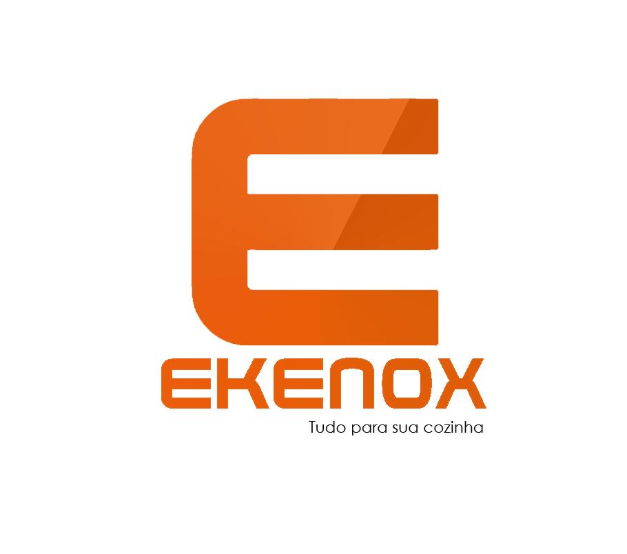 CHECK OUT BRANCO 1,30 BILATERAL CAIXA DE SUPERMERCADO + PERFIL COLORIDO   - EKENOX- Equipamentos Industriais