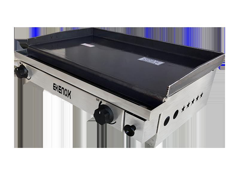 Chapa Para Lanches 60x40 Cm 2 Queimadores Ekenox  - EKENOX- Equipamentos Industriais