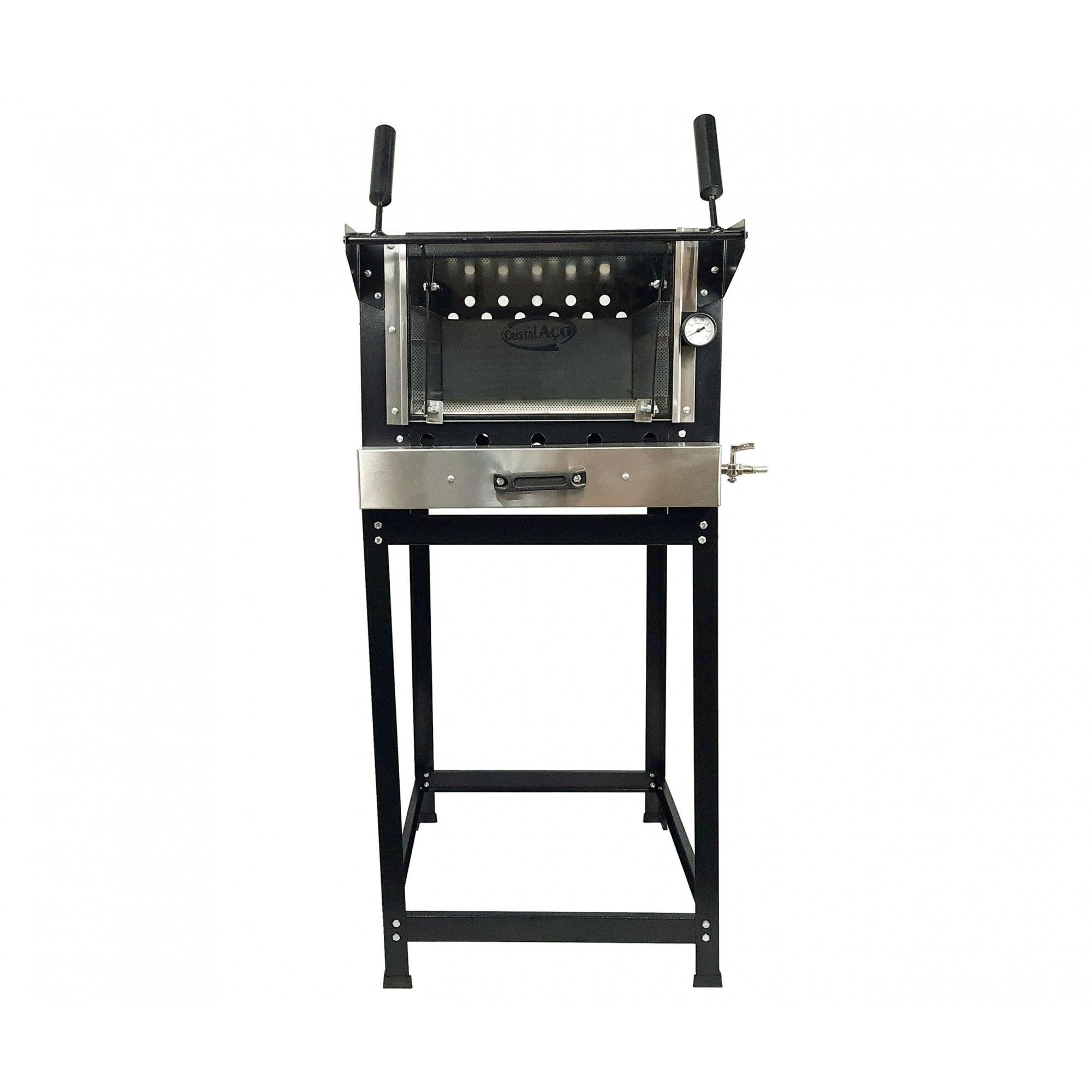 Forno Refratario Ind. A Gas 40x60 CA  - EKENOX- Equipamentos Industriais