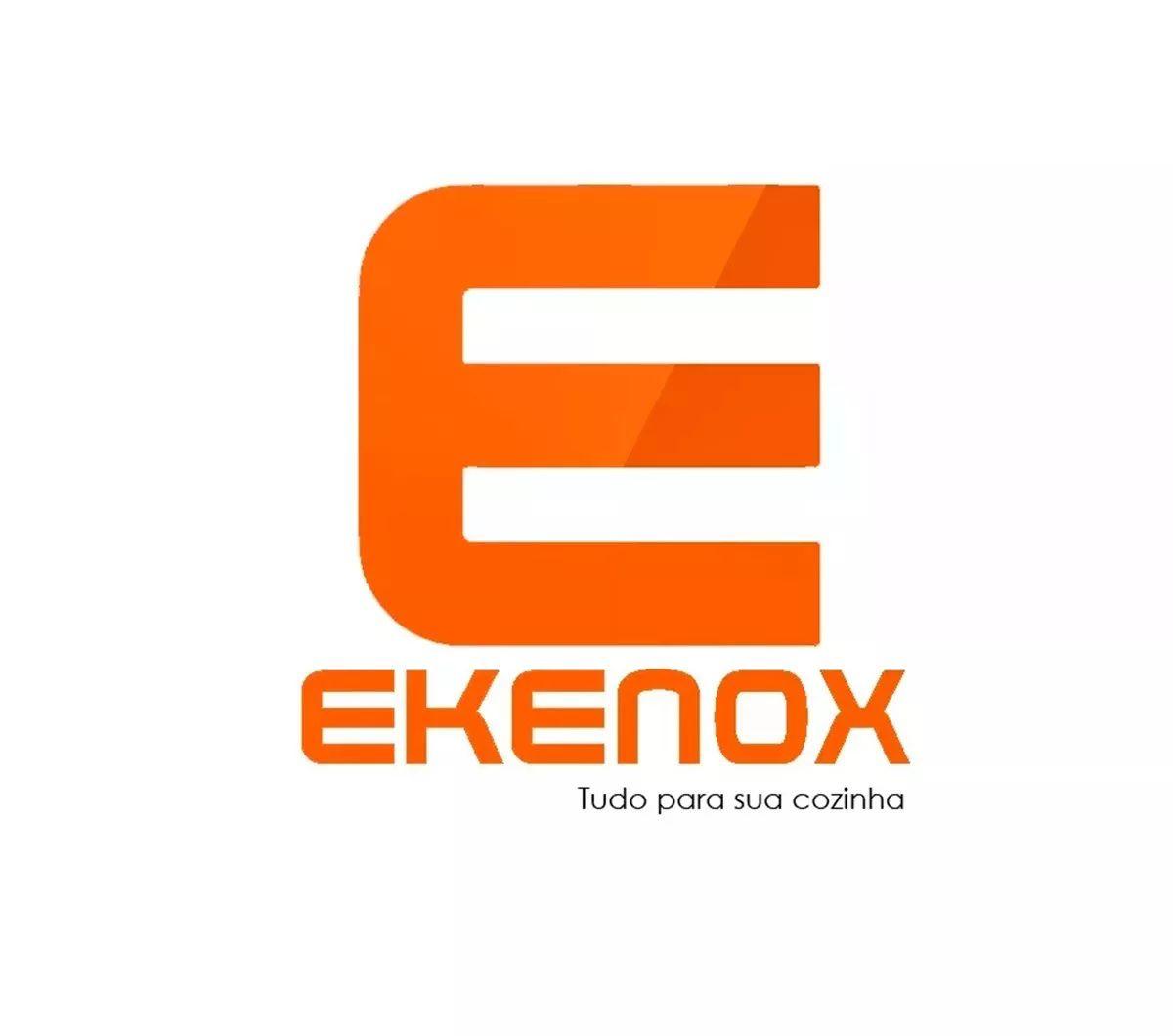 Gôndola Inicial Parede 1,70 Preta   - EKENOX- Equipamentos Industriais