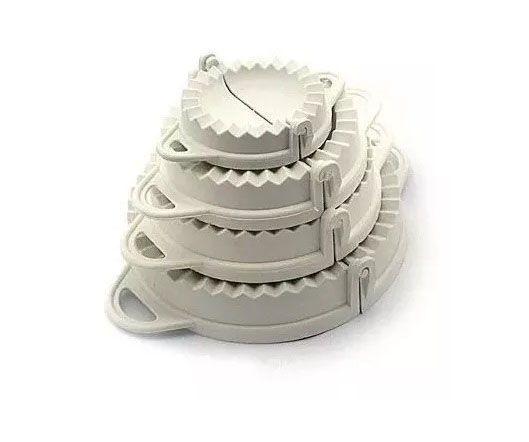 Kit 4 Fecha Pastel - 16 Modeladores  - EKENOX- Equipamentos Industriais