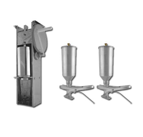 Kit Engrenagem e 2 Doceiras de Churros 2L  - EKENOX- Equipamentos Industriais