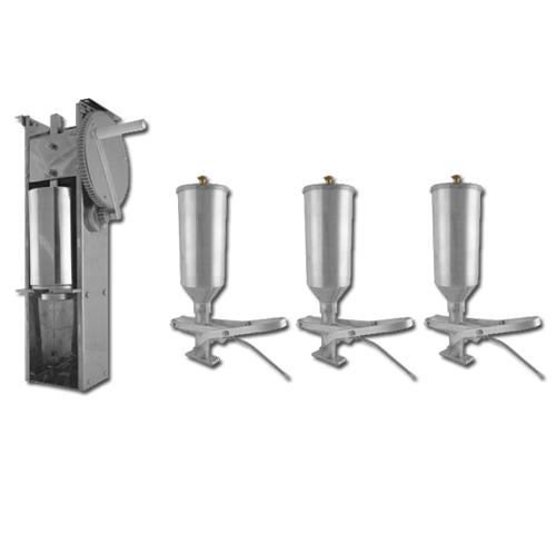 Kit Engrenagem e 3 Doceiras de Churros 2L  - EKENOX- Equipamentos Industriais