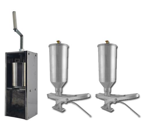 Kit Fuso e 2 Doceiras de Churros 2L  - EKENOX- Equipamentos Industriais