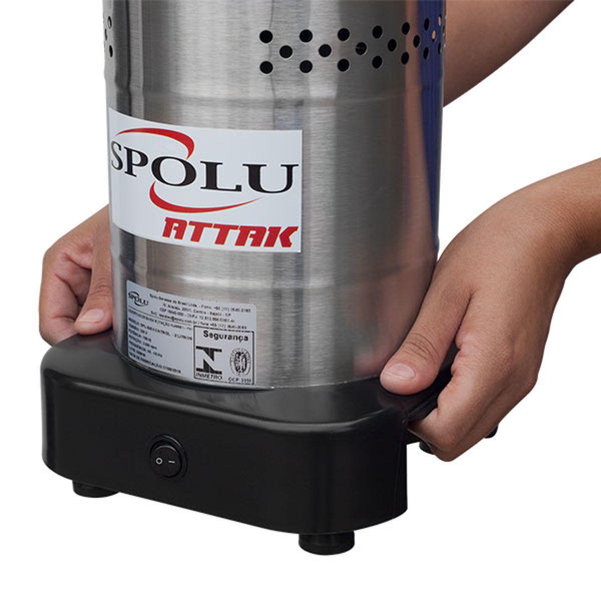 Liquidificador Industrial Attak 4 Litros Baixa Rotação Inox