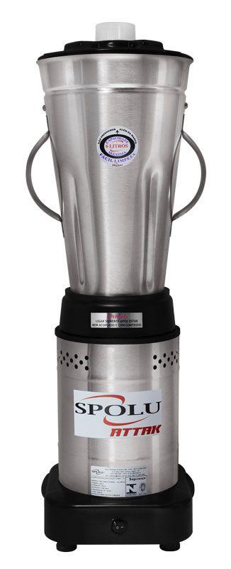 Liquidificador Industrial Attak 6 Litros Baixa Rotação Inox  - EKENOX- Equipamentos Industriais