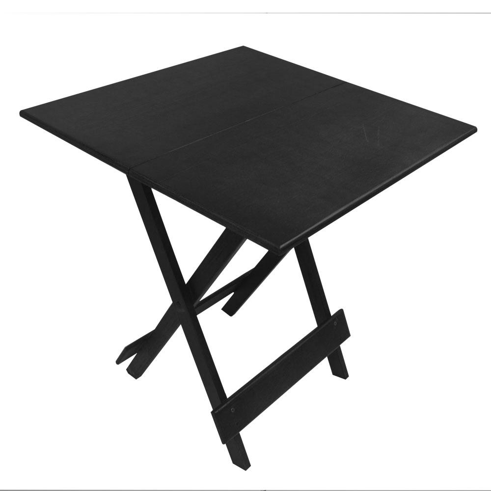 Mesa de Madeira Jogo com 2 Cadeiras Dobrável  - EKENOX- Equipamentos Industriais