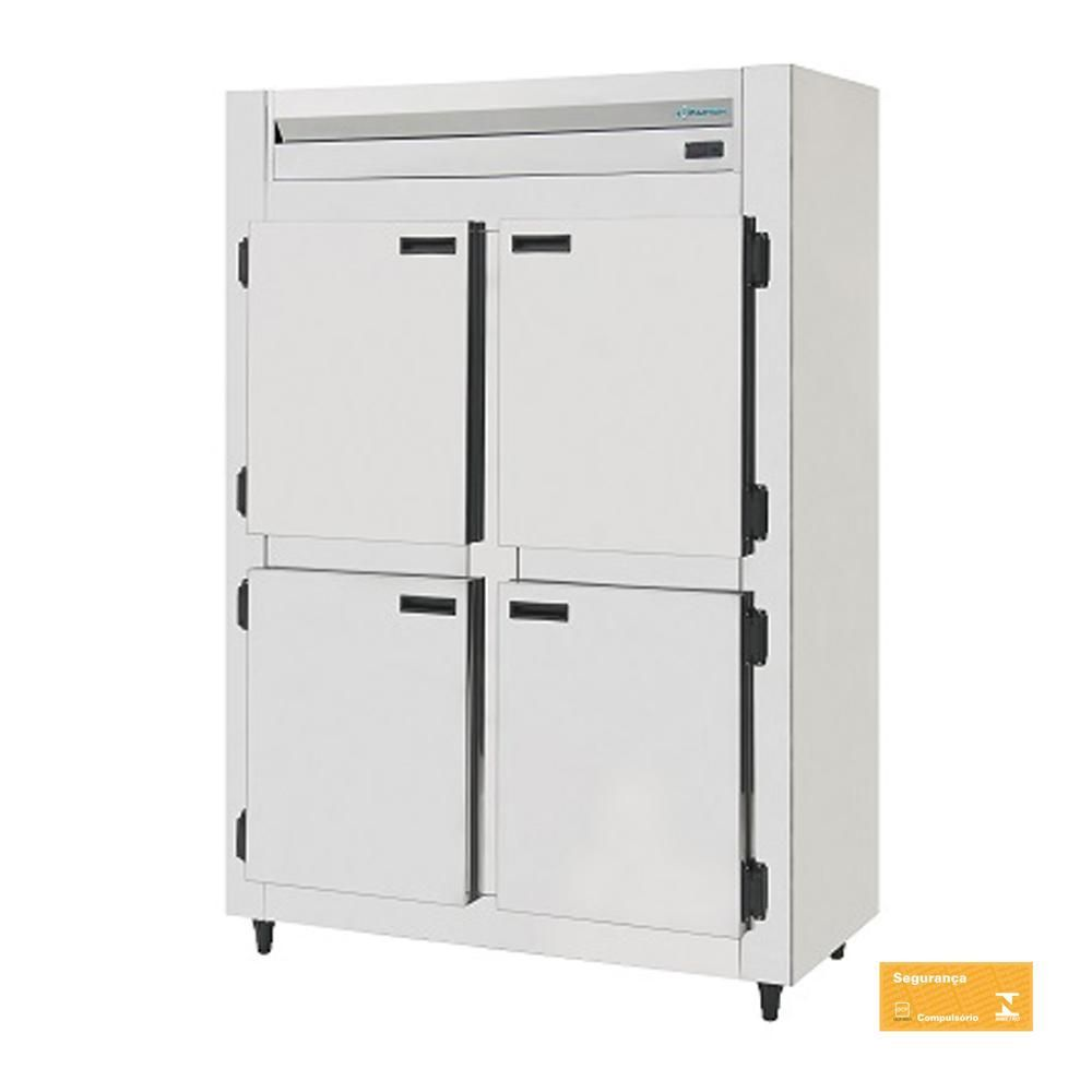 Mini Câmara Fria Industrial Inox 4 Portas 750 Litros Kofisa  - EKENOX- Equipamentos Industriais