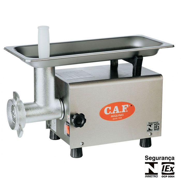 Picador de Carne CAF 8 Inox