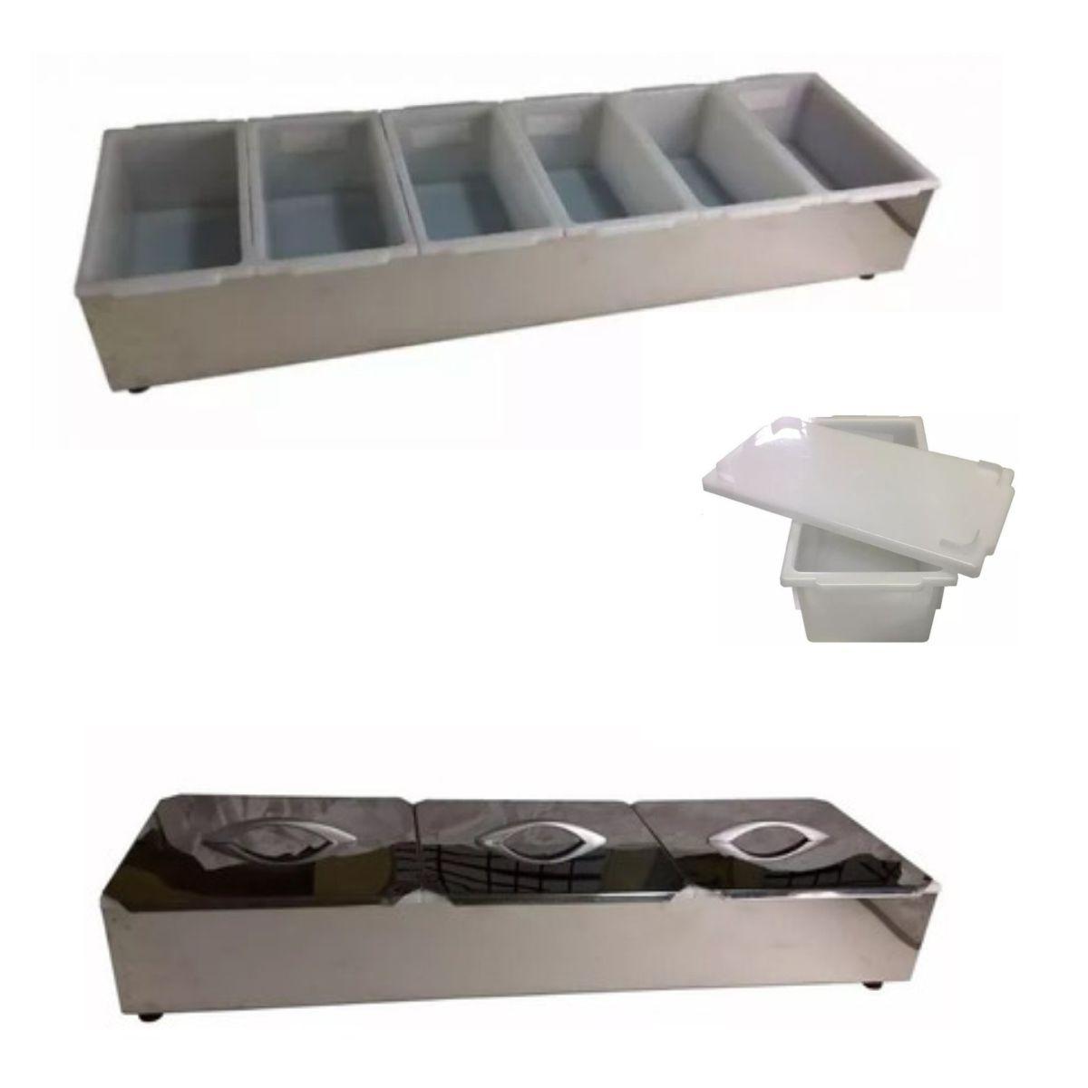PIZZAROLA 6 CAIXAS PLASTICAS  - EKENOX- Equipamentos Industriais