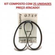 Kit Atacado 25 Correia Dentada Vw JZZ109119