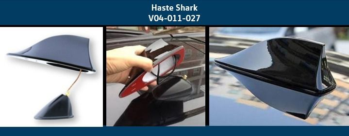 Antena Shark Original Vw Polo Virtus T-Cross Gol Fox Up! Saveiro