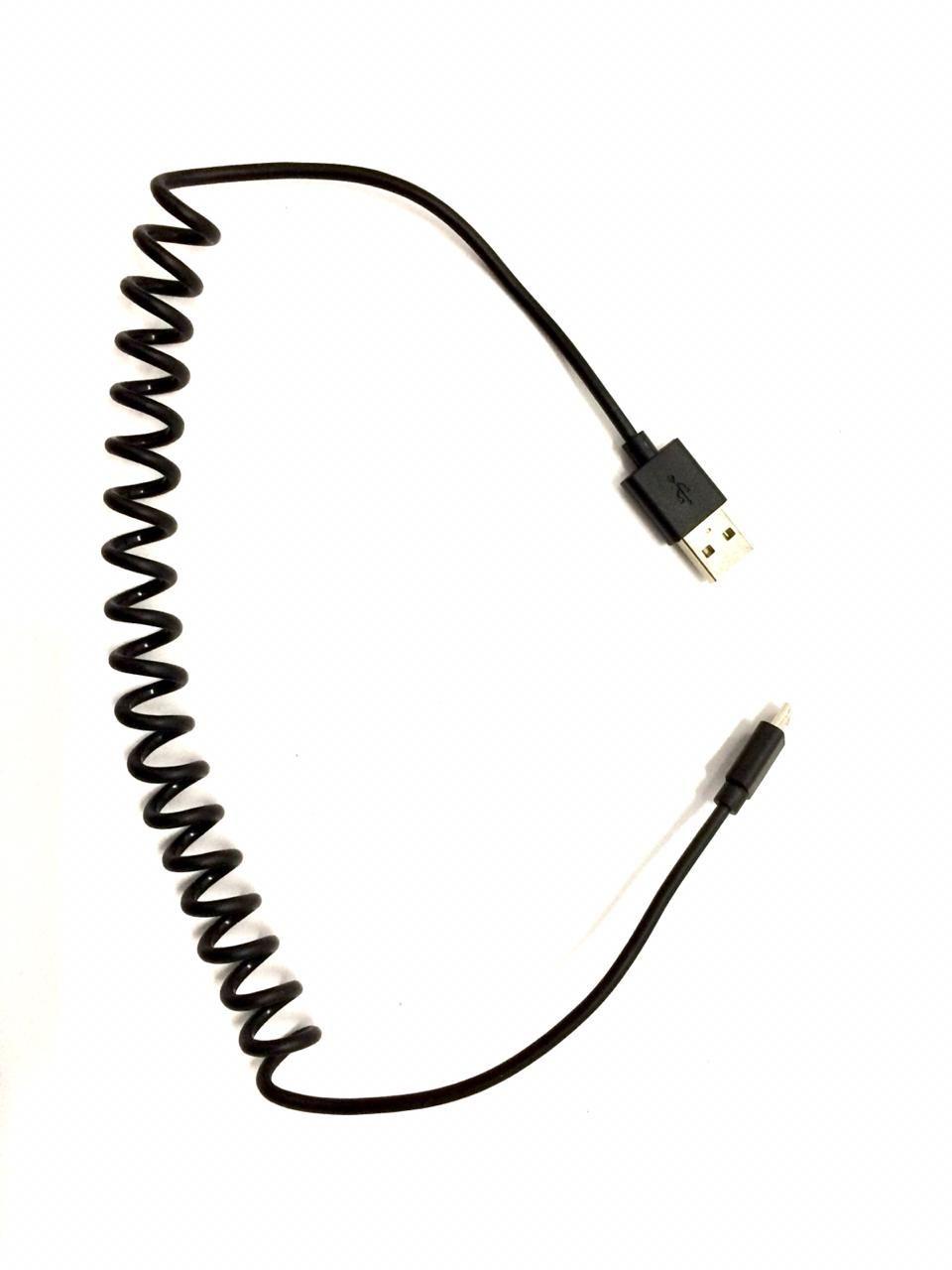 cabo espiral micro usb v8 Vw 5u0051446e