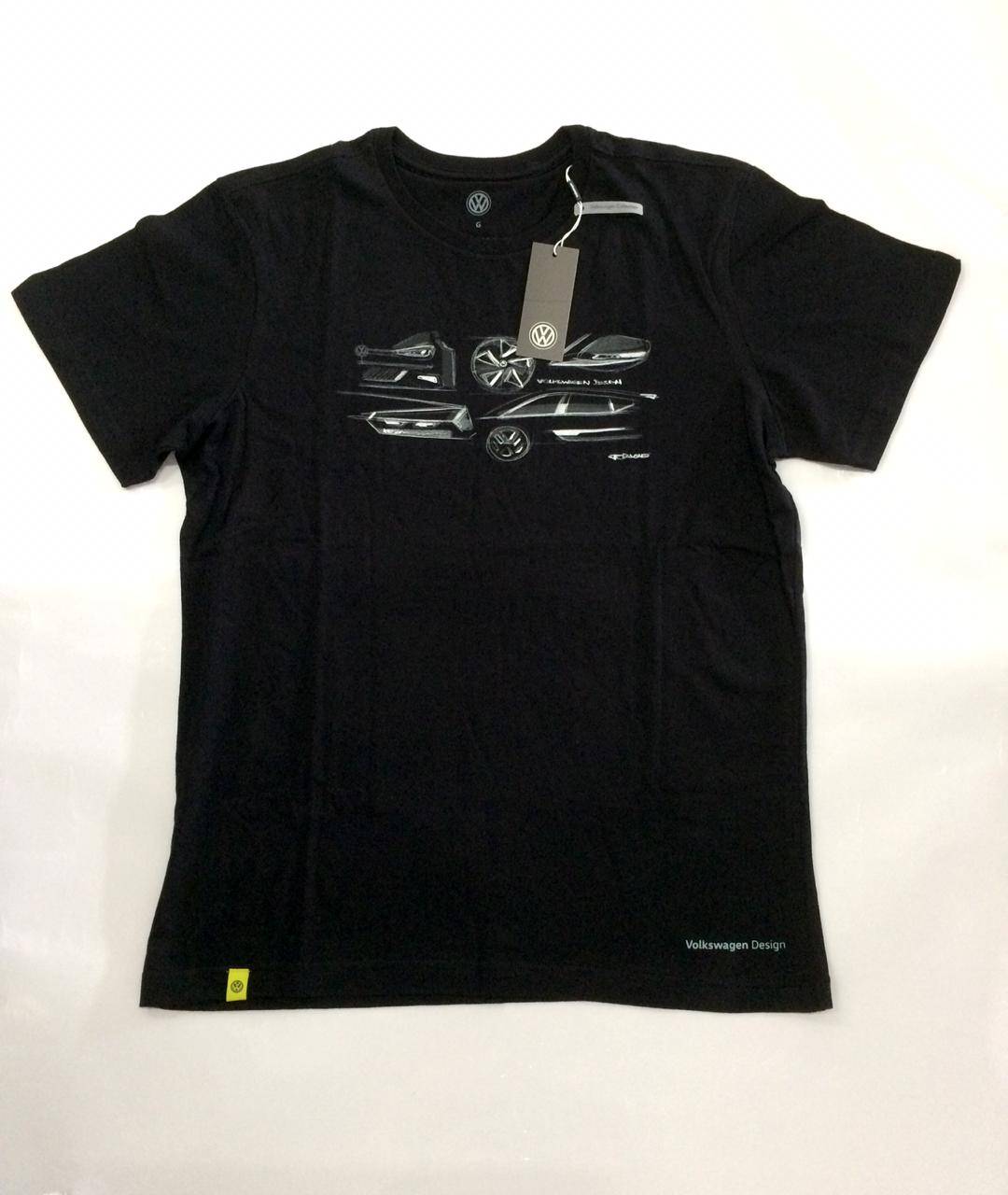 Camiseta Original Volkswagen Black Tee GTI Masculina Tam. G